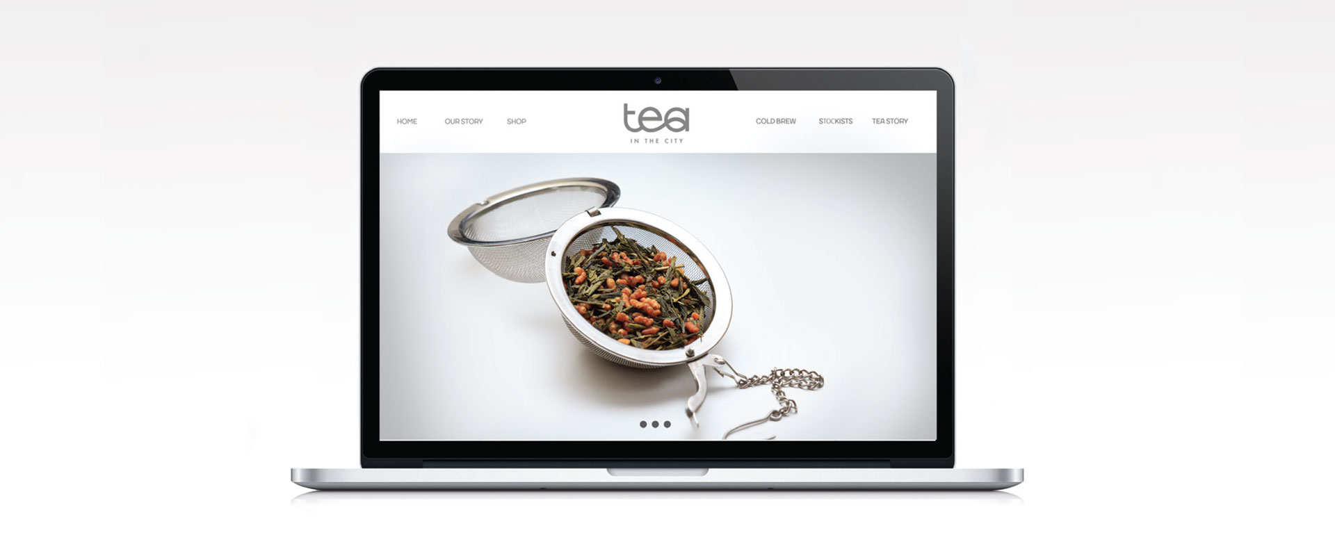 Tea in the City website